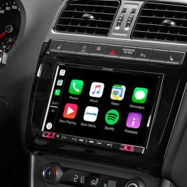 "Alpine X802D-U 8"" Touch Screen Navigation with TomTom maps, compatible with Apple CarPlay and Android Auto"