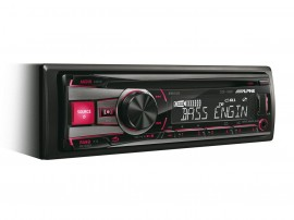 Alpine CDE-192R CD Receiver with USB and iPod Controller