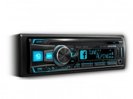 Alpine CDE-185BT CD Receiver with Advanced Bluetooth